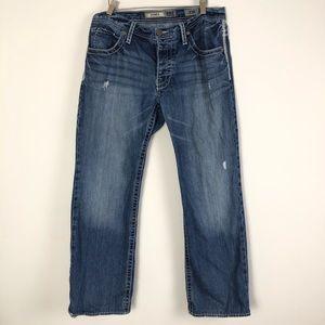 BKe Men's Jeans Derek Button Fly Size 32